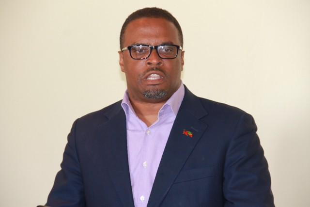 Minister of Foreign Affairs in St. Kitts and Nevis Hon. Mark Brantley